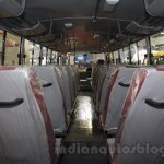 Mahindra Tourister interior at Bus and Special Vehicles Show 2015