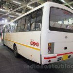 Mahindra Tourister rear quarters at Bus and Special Vehicles Show 2015
