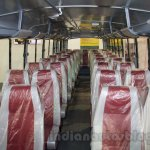 Mahindra Tourister seats at Bus and Special Vehicles Show 2015