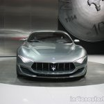 Maserati Alfieri front at the 2015 Detroit Auto Show