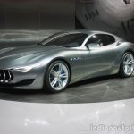 Maserati Alfieri front three quarter at the 2015 Detroit Auto  Show