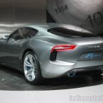 Maserati Alfieri rear three quarter at the 2015 Detroit Auto Show