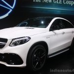 Mercedes AMG GLE 63 Coupe at the 2015 Detroit Auto Show front three quarter