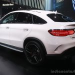 Mercedes AMG GLE 63 Coupe at the 2015 Detroit Auto Show rear three quarter