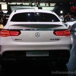Mercedes AMG GLE 63 Coupe at the 2015 Detroit Auto Show rear