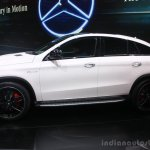 Mercedes AMG GLE 63 Coupe at the 2015 Detroit Auto Show side