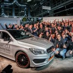 Mercedes Benz CLA Shooting Brake production announcement Hungary