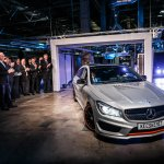 Mercedes Benz CLA Shooting Brake production front Hungary