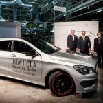 Mercedes Benz CLA Shooting Brake production side Hungary