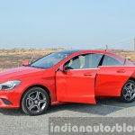 Mercedes CLA 200 CDI all doors open shot Review