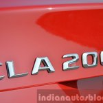 Mercedes CLA 200 CDI badge Review