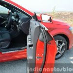 Mercedes CLA 200 CDI door front Review