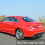 Mercedes CLA 200 CDI dynamic rear Review