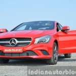 Mercedes CLA 200 CDI front door open Review