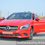 Mercedes CLA 200 CDI front doors open Review