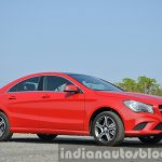 Mercedes CLA 200 CDI front quarter shot Review