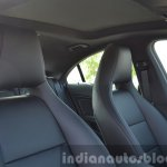 Mercedes CLA 200 CDI front seats Review