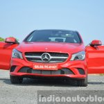Mercedes CLA 200 CDI front shot Review