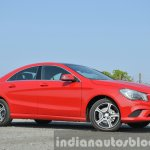 Mercedes CLA 200 CDI front three quarter Review
