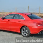 Mercedes CLA 200 CDI rear quarter Review