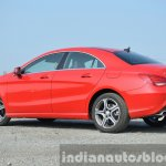 Mercedes CLA 200 CDI rear quarters Review