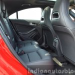 Mercedes CLA 200 CDI rear seat Review