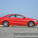 Mercedes CLA 200 CDI side Review