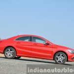 Mercedes CLA 200 CDI side shot Review