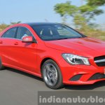 Mercedes CLA 200 CDI tracking Review