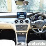 Mercedes CLA 200 beige interior Review