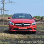 Mercedes CLA 200 front Review