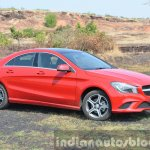 Mercedes CLA 200 front quarter Review