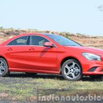 Mercedes CLA 200 front quarters Review