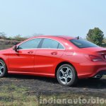 Mercedes CLA 200 rear quarter Review