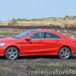 Mercedes CLA 200 side Review