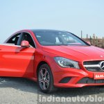 Mercedes CLA doors Review