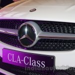 Mercedes CLA grille India launch