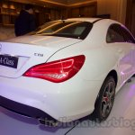 Mercedes CLA rear quarter India launch