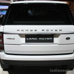 Range Rover rear at the 2015 Detroit Auto Show