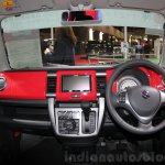 Suzuki Hustler J Style interior TAS 2015
