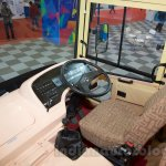 Tata 1512 Luxury Bus driver cabin at the Bus and Special Vehicles Expo 2015
