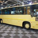 Tata 1512 Luxury Bus front quarter at the Bus and Special Vehicles Expo 2015
