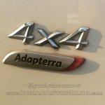 Tata Aria Automatic badge spied