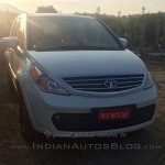 Tata Aria Automatic front spied