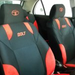 Tata Bolt sporty interior front seats
