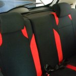 Tata Bolt sporty interior rear seats