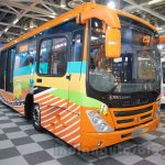 Tata Starbus Articulated at the Bus and Special Vehicles Expo 2015