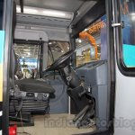Tata Starbus Articulated driver cabin at the Bus and Special Vehicles Expo 2015