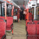 Tata Starbus Articulated inside at the Bus and Special Vehicles Expo 2015