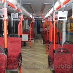 Tata Starbus Articulated interior at the Bus and Special Vehicles Expo 2015